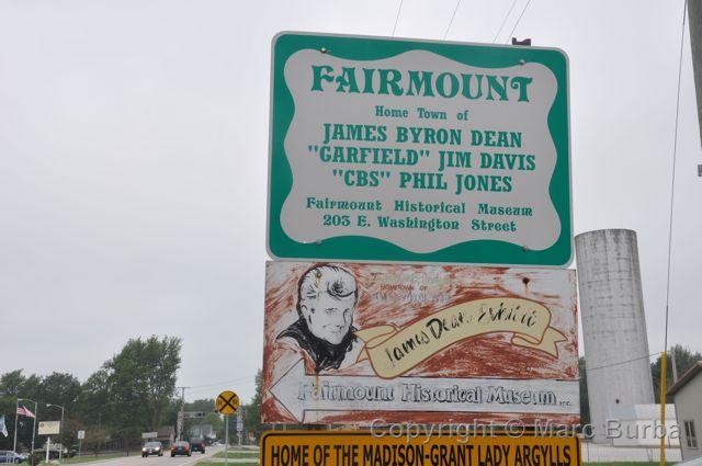 Fairmount, Ind: A travel journal